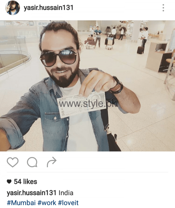 Sami Khan, Yasir Hussain and Imran Abbas in India (3)