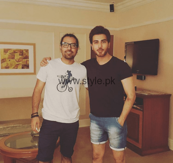 Sami Khan, Yasir Hussain and Imran Abbas in India (6)
