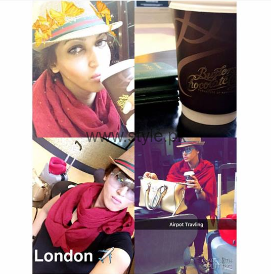 Sana Fakhar's pictures from London's tour (1)