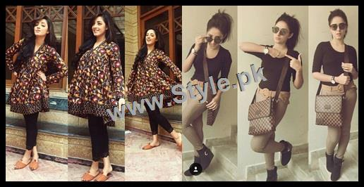 See Sanam Chauhdry's Style has no Match