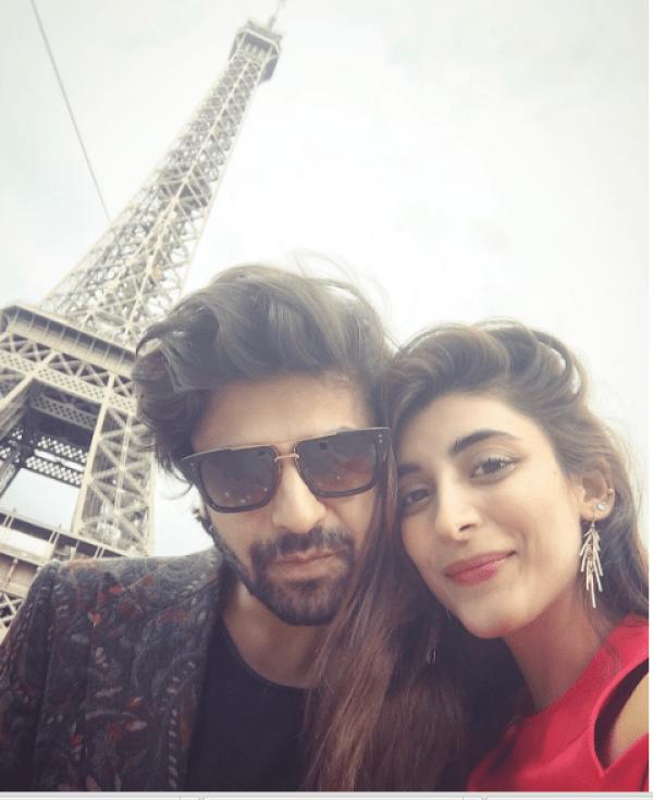 Urwa Hocane and Farhan Saeed in France