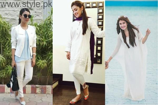 See 10 Times Ayeza Khan stunned in White dress