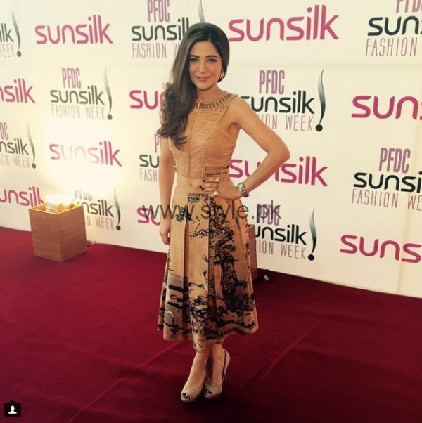 Ayesha Omer At Sunsilk Fashion Week