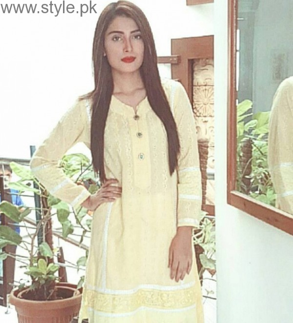 Ayeza Khan Pretty In Yellow