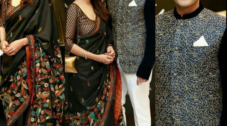 See Beautiful Couple Sarwat Gilani and Fahad Mirza at LSA 2016