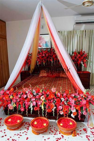 Bridal Wedding Room Decoration Ideas 2016 (4)