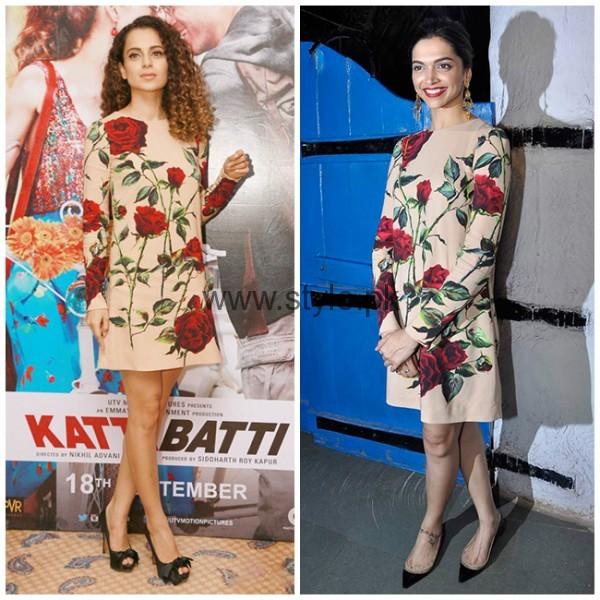 Celebrities Wearing Same Dresses (2)