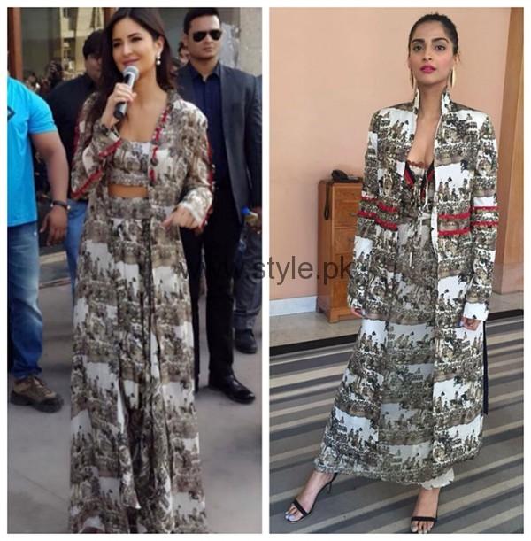 Celebrities Wearing Same Dresses (4)