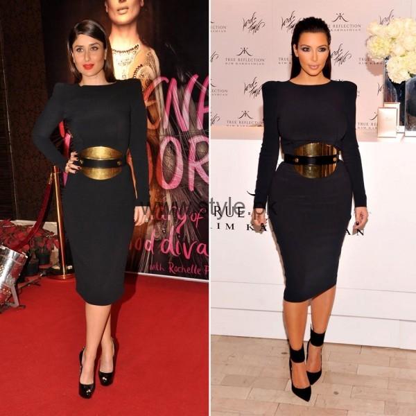 Celebrities Wearing Same Dresses (7)