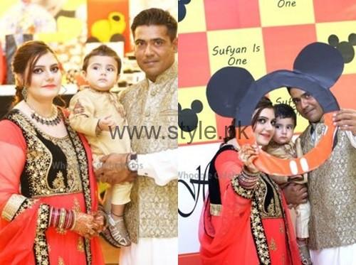 See Cricketer Mohammad Sami's son's Birthday Celebrations