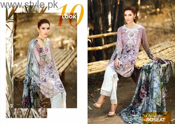 Cross Stitch Cambric Dresses 2016 For Women002