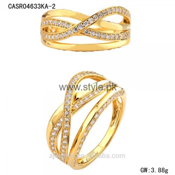 Engagement Gold Rings 2016 for Girls (13)