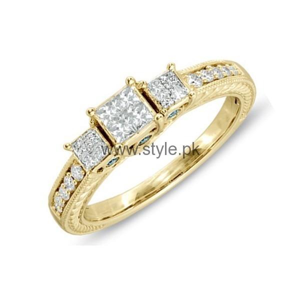 Engagement Gold Rings 2016 for Girls (2)