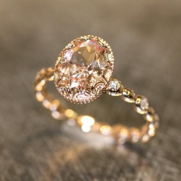 Engagement Gold Rings 2016 For Girls