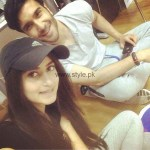 Feroz Khan and Sajal Ali