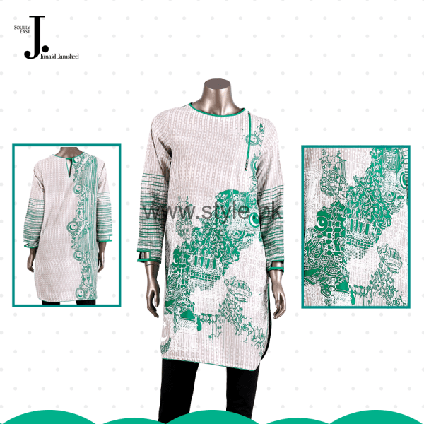 Junaid Jamshed Independence Day Dresses 2016 For Women001