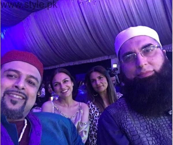Junaid Jamshed Pakistani Actresses
