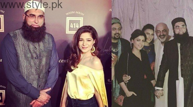 Junaid Jamshed With Actresses