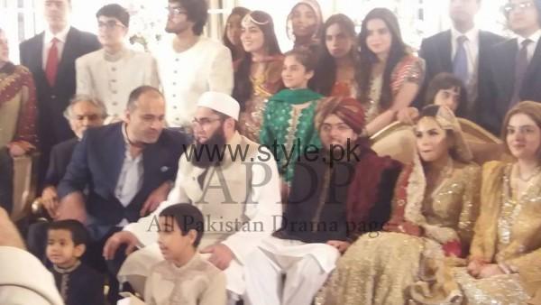 Junaid Jamshed's son got married (2)