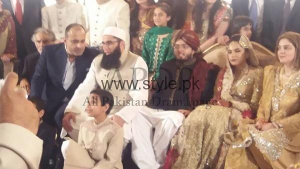 Junaid Jamshed's son got married (3)