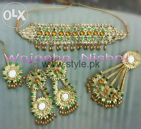Latest Bridal Mehndi Jewellery 2016 (12)