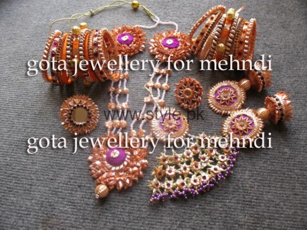 Latest Bridal Mehndi Jewellery 2016 (5)