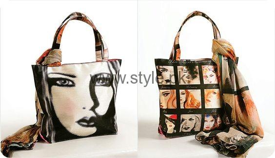 Latest Digital Print Handbags 2016 (2)