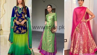 See Latest Dresses 2016 for Mehndi Event