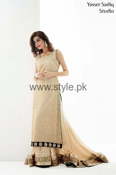 Latest Embroidered dresses 2016 for Newly Married girls (9)
