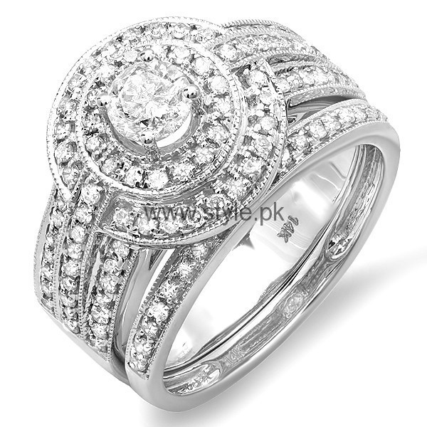 Latest Engagement Diamond Rings for Girls 2016 (11)