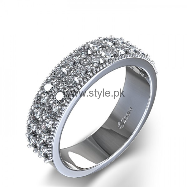 Latest Engagement Diamond Rings for Girls 2016 (16)