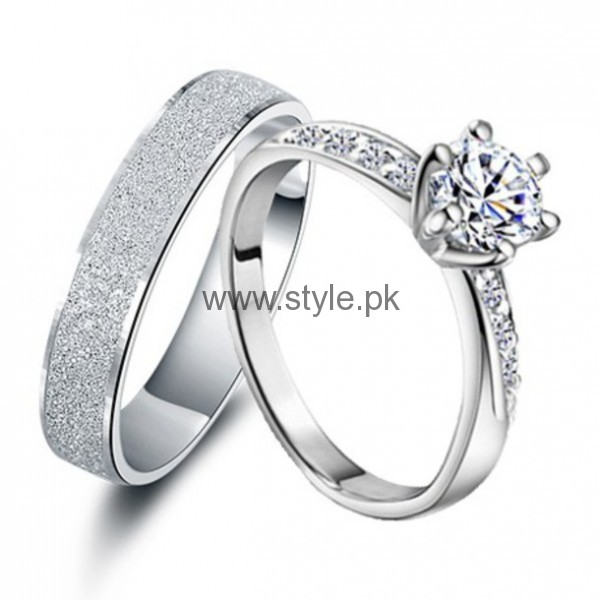 Latest Engagement Diamond Rings for Girls 2016 (21)