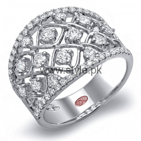 Latest Engagement Diamond Rings for Girls 2016 (7)