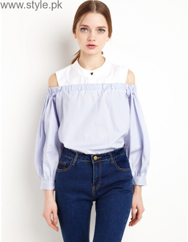 Latest Off-Shoulder Tops 2016 (15)