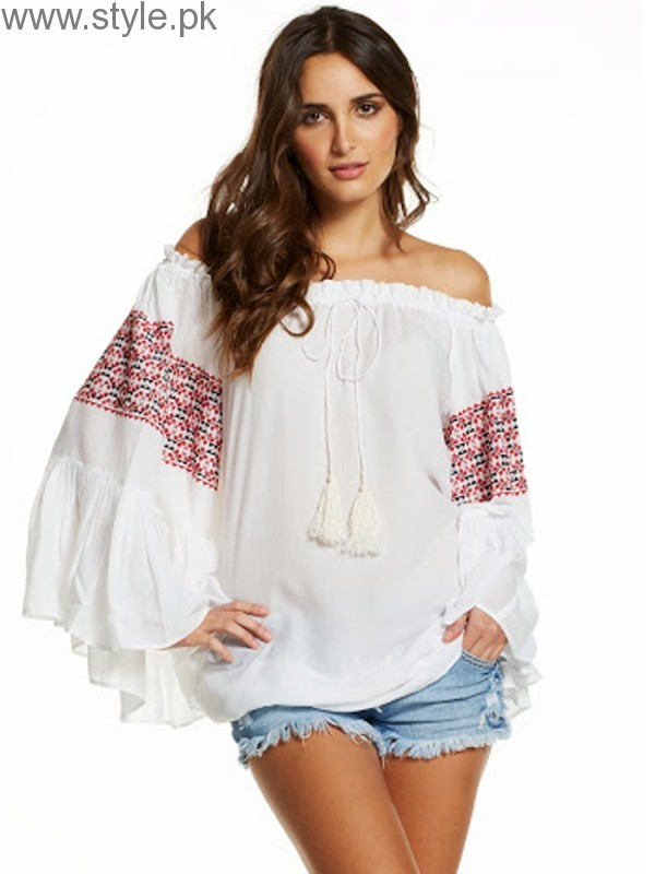 Latest Off-Shoulder Tops 2016 (21)