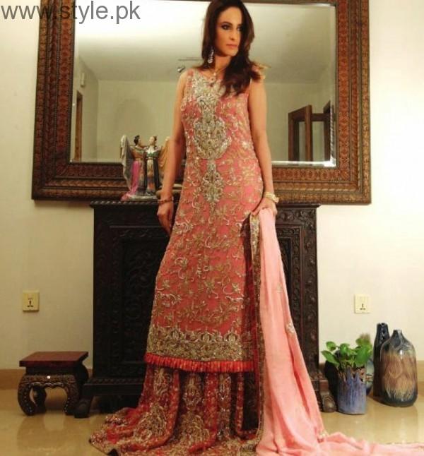 See Latest Pakistani Engagement Dresses