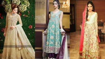 Latest Pakistani Engagement Dresses
