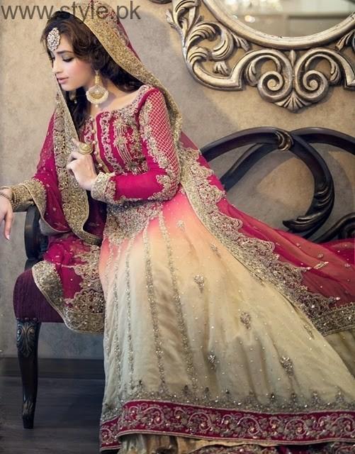 Latest Pakistani Engagement Dresses(13)