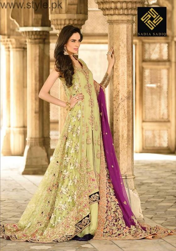 Latest Pakistani Engagement Dresses (3)