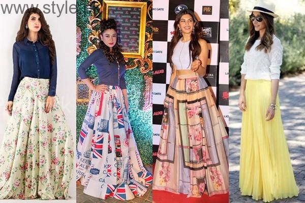 See Latest Pakistani Skirts
