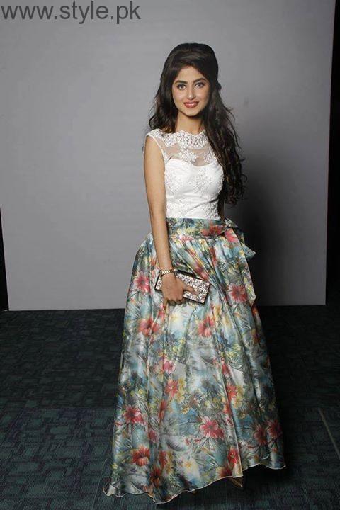 Sajal Ali in Pakistani Skirt