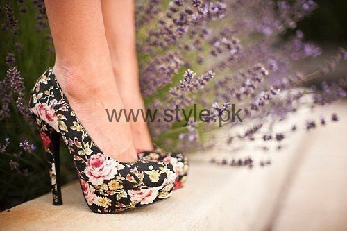 Latest Summers Floral Heels 2016 (11)