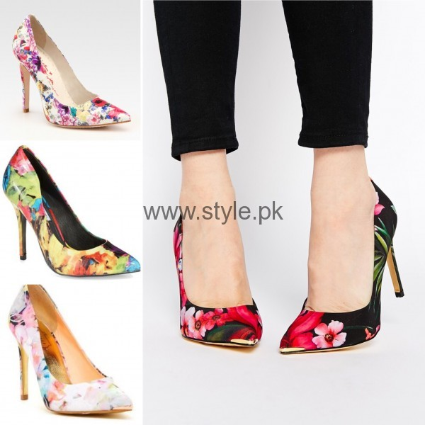 Latest Summers Floral Heels 2016 (20)