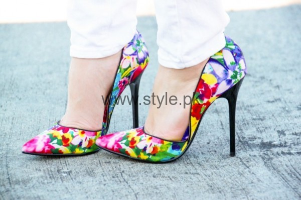 see Latest Summers Floral Heels 2016