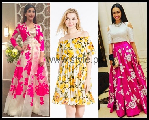 See Latest Summers Floral dresses 2016