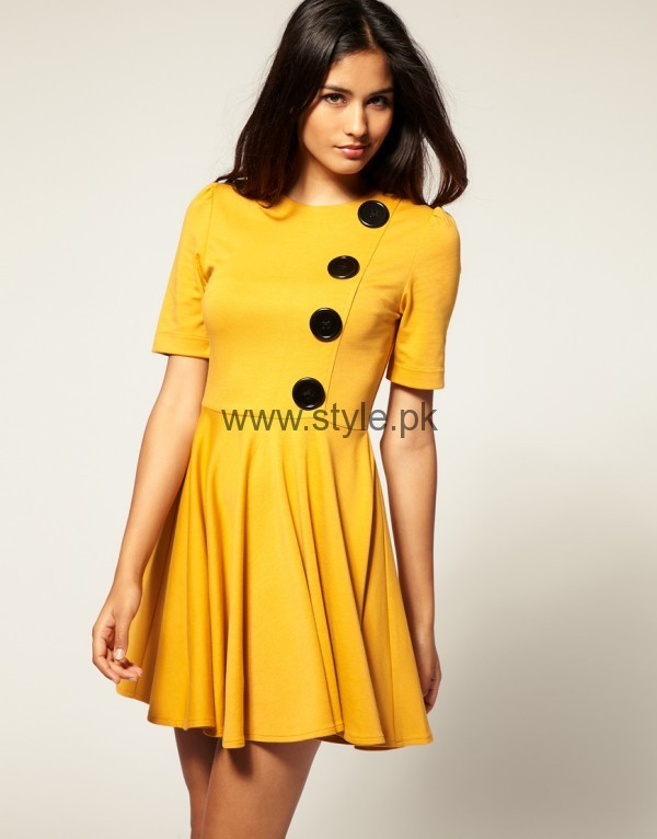 Latest Yellow summers tops for Women 2016 (7)