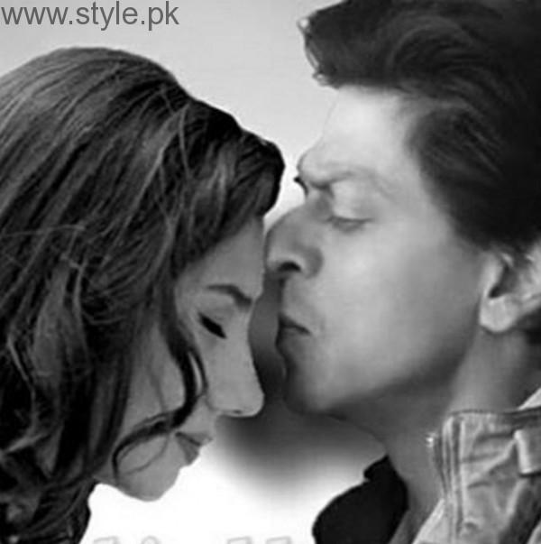 Mahira Khan and Shah Rukh Khan