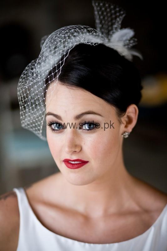 Makeup Ideas 2016 for White Dresses (3)