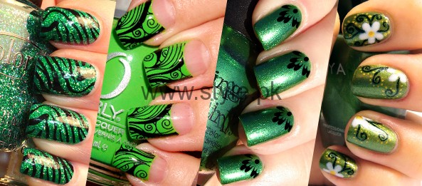 Nail Art Ideas 2016 for Pakistan's Independence Day (4)