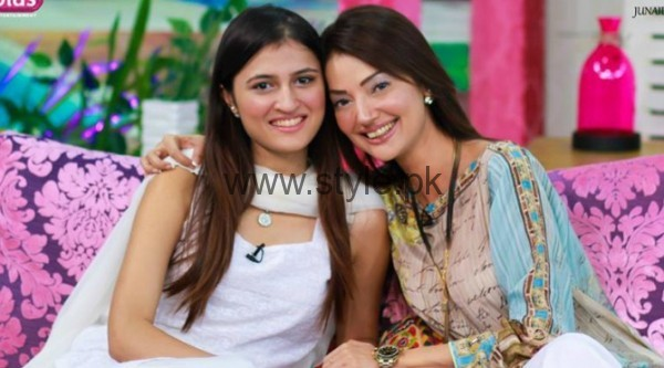 Natasha Hussain Daughter Pic